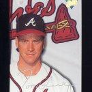 1993 Studio Baseball #145 Tom Glavine - Atlanta Braves