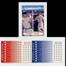 1993 Upper Deck Fun Pack All-Stars #AS6 Cal Ripken / Ozzie Smith