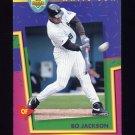 1993 Upper Deck Fun Pack Baseball #199 Bo Jackson - Chicago White Sox