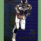 1999 Bowman's Best Football #092 Randy Moss - Minnesota Vikings