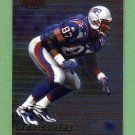 1999 Bowman's Best Football #069 Ben Coates - New England Patriots