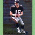 1999 Bowman's Best Football #063 Chris Chandler - Atlanta Falcons