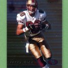 1999 Bowman's Best Football #033 Jerry Rice - San Francisco 49ers