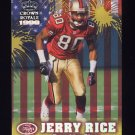 1999 Crown Royale Franchise Glory #21 Jerry Rice San Francisco 49ers