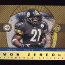 1999 Crown Royale Rookie Gold #20 Amos Zereoue RC - Pittsburgh Steelers