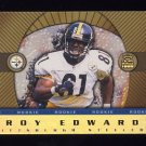 1999 Crown Royale Rookie Gold #19 Troy Edwards RC - Pittsburgh Steelers