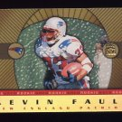 1999 Crown Royale Rookie Gold #15 Kevin Faulk RC - New England Patriots