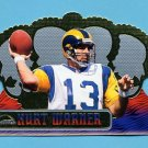 1999 Crown Royale Football #116 Kurt Warner RC - St. Louis Rams