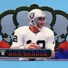 1999 Crown Royale Football #100 Rich Gannon - Oakland Raiders