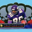 1999 Crown Royale Football #077 Cris Carter - Minnesota Vikings