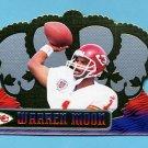 1999 Crown Royale Football #068 Warren Moon - Kansas City Chiefs