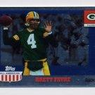2003 Topps All American Football Foil #090 Brett Favre - Green Bay Packers