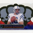 1999 Crown Royale Football #060 Peyton Manning - Indianapolis Colts