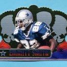 1999 Crown Royale Football #041 Emmitt Smith - Dallas Cowboys