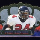 1999 Crown Royale Football #009 Byron Hanspard - Atlanta Falcons