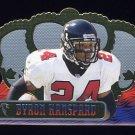 1999 Crown Royale Football #009 Byron Hanspard - Atlanta Falcons