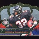 1999 Crown Royale Football #006 Jamal Anderson - Atlanta Falcons
