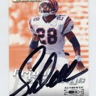 1999 Donruss Private Signings #08 Corey Dillon - Cincinnati Bengals AUTO /500