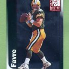 1999 Donruss Elite Football #004 Brett Favre - Green Bay Packers