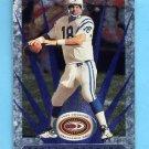 1999 Donruss Preferred QBC Football #066 Peyton Manning - Indianapolis Colts