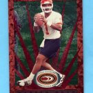 1999 Donruss Preferred QBC Football #034 Warren Moon - Kansas City Chiefs