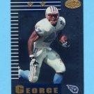 1999 Leaf Certified Football #148 Eddie George - Tennessee Titans