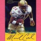 1999 Score Rookie Preview Autographs #08 Mike Cloud - Kansas City Chiefs AUTO