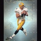 1999 SP Authentic NFL Headquarters #HQ01 Brett Favre - Green Bay Packers