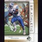 1999 SP Authentic Athletic #A6 Barry Sanders - Detroit Lions