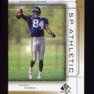 1999 SP Authentic Athletic #A1 Randy Moss - Minnesota Vikings