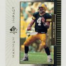 1999 SP Authentic Maximum Impact #MI10 Brett Favre - Green Bay Packers