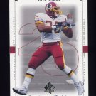 1999 SP Authentic Football #089 Skip Hicks - Washington Redskins