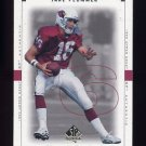 1999 SP Authentic Football #001 Jake Plummer - Arizona Cardinals