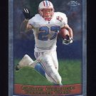 1999 Topps Chrome Football #046 Eddie George - Tennessee Titans