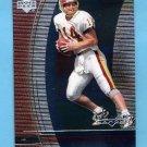 1999 Black Diamond Football #109 Brad Johnson - Washington Redskins