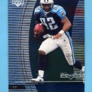1999 Black Diamond Football #107 Yancey Thigpen - Tennessee Titans