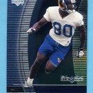 1999 Black Diamond Football #086 Isaac Bruce - St. Louis Rams