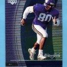 1999 Black Diamond Football #061 Cris Carter - Minnesota Vikings