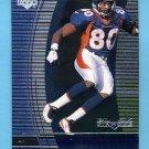 1999 Black Diamond Football #036 Rod Smith - Denver Broncos
