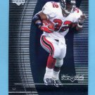1999 Black Diamond Football #005 Jamal Anderson - Atlanta Falcons