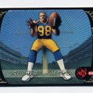 1998 UD3 Football #186 Grant Wistrom RC - St. Louis Rams