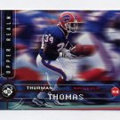 1998 UD3 Football #086 Thurman Thomas - Buffalo Bills