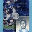 1998 SPx Football #20 Marshall Faulk - Indianapolis Colts