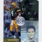 1998 SPx Football #18 Brett Favre - Green Bay Packers