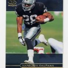 1998 SP Authentic Football #101 Napoleon Kaufman - Oakland Raiders