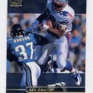 1998 SP Authentic Football #090 Ben Coates - New England Patriots