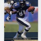 1998 SP Authentic Football #049 Michael Jackson - Baltimore Ravens