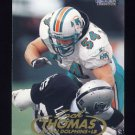 1998 Fleer Tradition Football #141 Zach Thomas - Miami Dolphins
