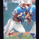 1998 Fleer Tradition Football #006 Eddie George - Tennessee Oilers
