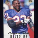 1998 Collector's Edge First Place 50-Point #194 Antowain Smith - Buffalo Bills